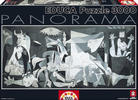 Guernica, Pablo Picasso - 3000 Piece Panorama Puzzle - Finnegan's Toys & Gifts