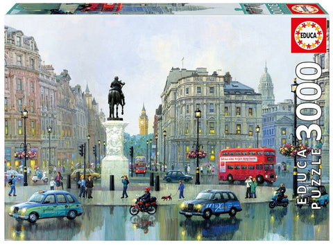 London Charing Cross - 3000 Piece Puzzle - Finnegan's Toys & Gifts