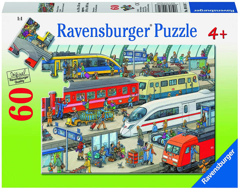 Railway Station Puzzle 60 pc Puzzle
