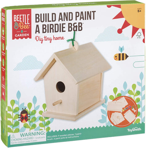Build And Paint A Birdie B&B House Feeder