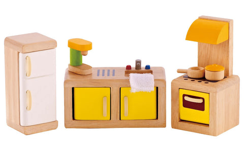 Hape Dollhouse Kitchen -- SALE - Finnegan's Toys & Gifts