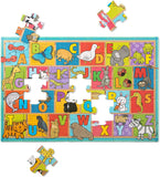 Natural Play ABC Animals Floor Puzzle (35 pc)
