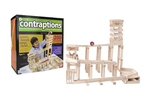Keva Contraptions -  200 Plank Set - Finnegan's Toys & Gifts - 1