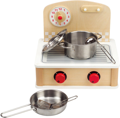 Hape Tabletop Cook and Grill - Finnegan's Toys & Gifts