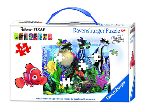 Finding Nemo: Hanging Around 100 pc XXL Puzzle Suitcase - Finnegan's Toys & Gifts