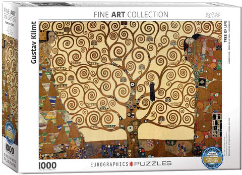 Eurographics - Gustav Klimt: Tree of Life Puzzle (1000 pcs)
