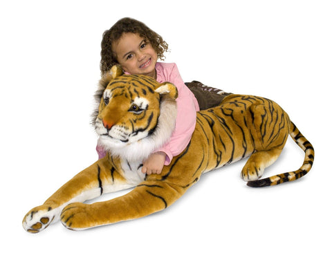 Tiger Plush - Finnegan's Toys & Gifts
