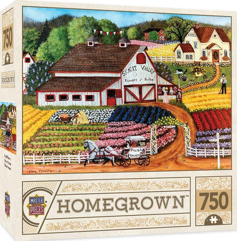 Masterpieces Homegrown - Skagit Valley, Fresh Flowers 750pc Puzzle