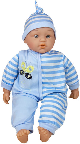 "Lissi 15"" Talking Baby Doll - Blue"