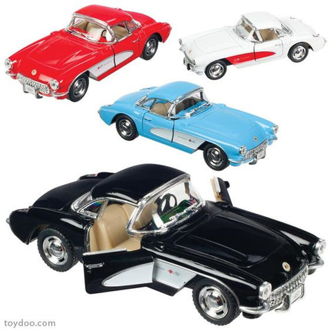 1957 Corvette Die Cast Car - Finnegan's Toys & Gifts