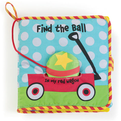 Find the Ball Soft Fabric Activity Book - Finnegan's Toys & Gifts