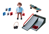 Playmobil 9094 - Skateboarder with Ramp