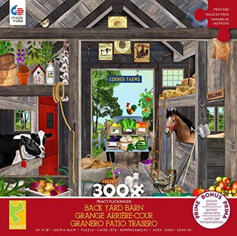 Tracy Flickinger - The Barn Puzzle (300 Oversized pcs)