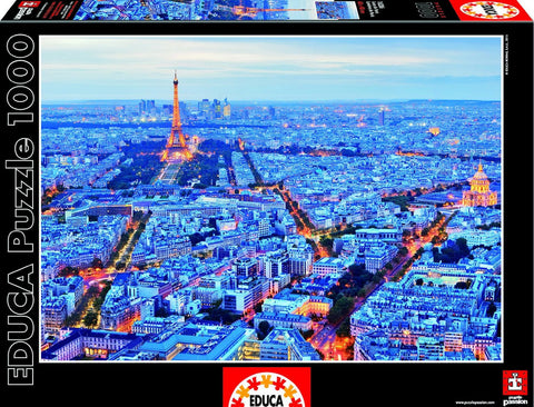 Paris Lights - 1000 Piece Puzzle - Finnegan's Toys & Gifts