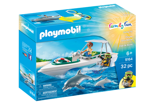 Playmobil 9164 - Diving Trip