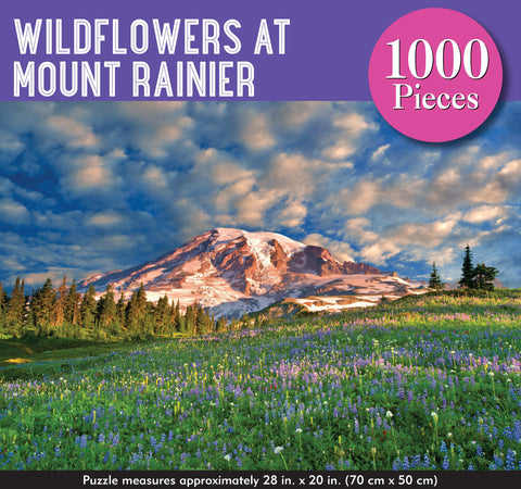 Jigsaw Puzzle: Wildflowers at Mount Rainier (1000 pcs)