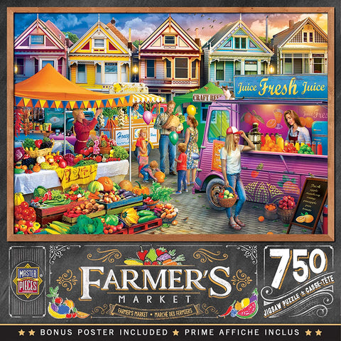 Weekend Market 750 pc Puzzle