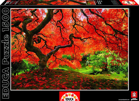 Japanese Garden - 1500 Piece Puzzle - Finnegan's Toys & Gifts