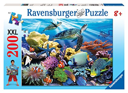 Ravensburger - Ocean Turtles XXL Puzzle (200 pcs)