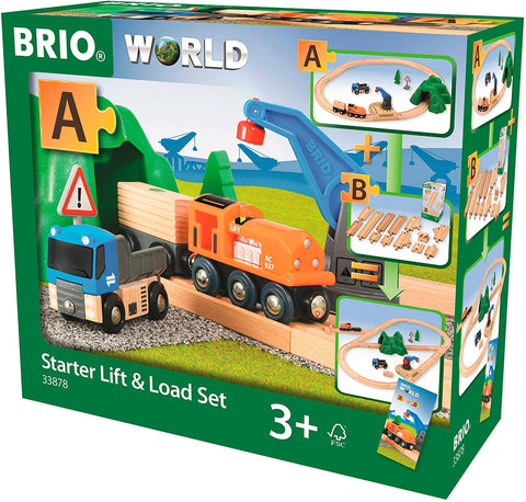 BRIO - Starter Lift & Load Set  33878