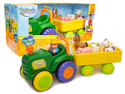 Kidoozie Funtime Tractor - Finnegan's Toys & Gifts