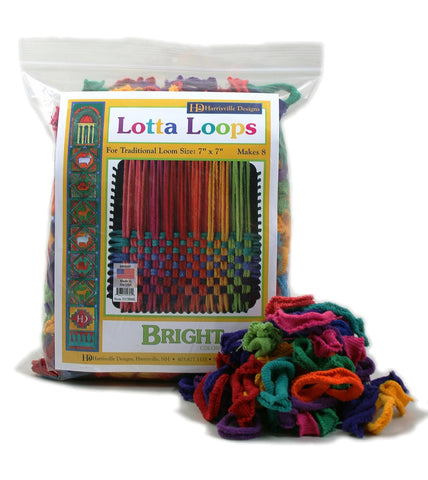 Lotta Loops Makes 8 Potholders - Finnegan's Toys & Gifts