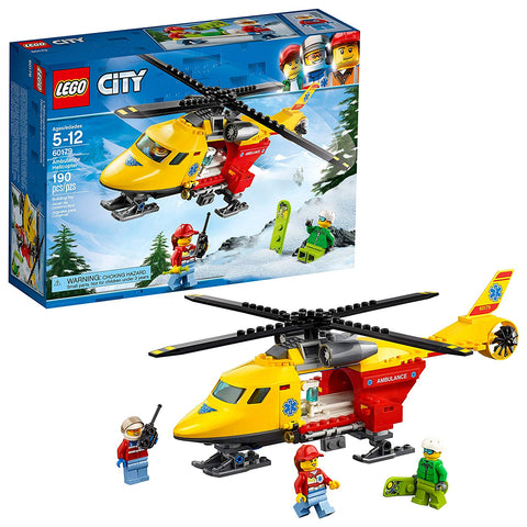 LEGO City 60179 - Ambulance Helicopter