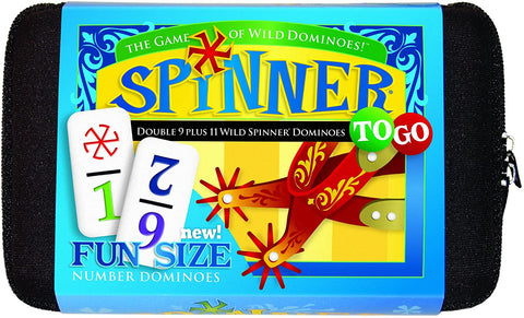 Spinner To-Go Numbered Dominoes