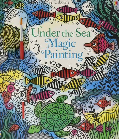 Under the Sea Magic Painting Book