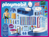 Bathroom with Tub Playmobil 70211