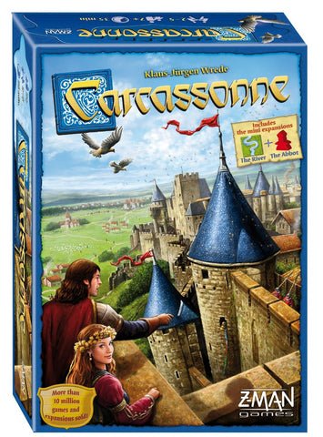Carcassonne Basic Edition - Finnegan's Toys & Gifts