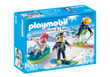 Playmobil 9286 - Winter Sports Trio