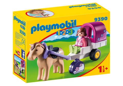 Playmobil 9390 Horse-Drawn Carriage