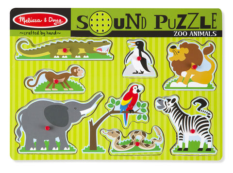 Zoo Animals Sound Puzzle - Finnegan's Toys & Gifts