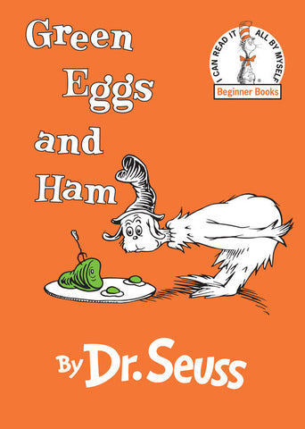 Green Eggs and Ham - Dr. Seuss (Hardcover)