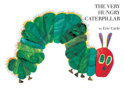 The Very Hungry Caterpillar - Eric Carle (Board Book)