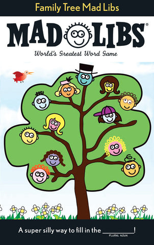 Mad Libs - Family Tree Mad Libs