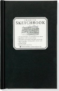Small Black Premium Sketchbook - Finnegan's Toys & Gifts