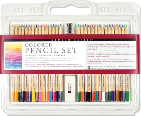 Studio Series Colored Pencil Set (Set of 30) - Finnegan's Toys & Gifts