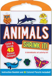 Shrink It! Animals - Finnegan's Toys & Gifts