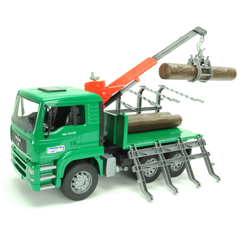 Bruder - MAN Timber Truck with Loading Crane 02769