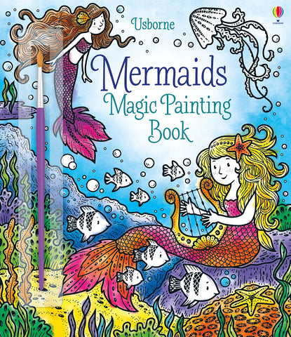 Mermaids Magic Painting Book
