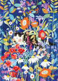 Jigsaw Puzzle: Garden Cat (1000 pcs)