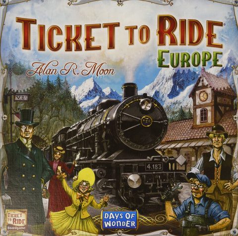 Ticket To Ride - Europe - Finnegan's Toys & Gifts