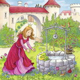 Rapunzel, Red Riding Hood, and Frog King Puzzles (3 x 49 pcs)