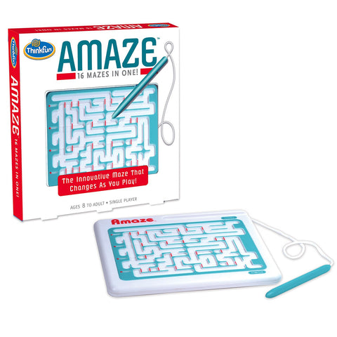 Amaze - 16 Mazes In One - Finnegan's Toys & Gifts