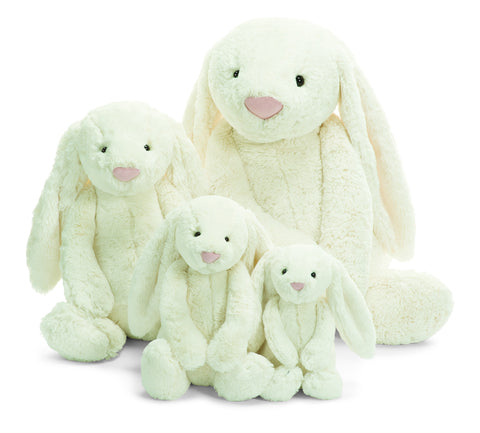 Jellycat Bashful Cream Bunny 12'' - Finnegan's Toys & Gifts