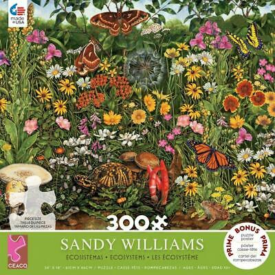 Sandy Williams - Ecosystems Butterflies & Moths (300 pcs)
