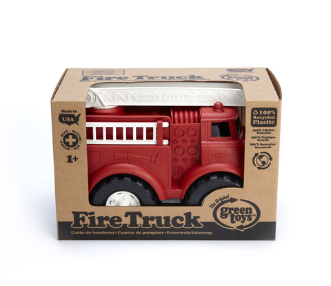 Green Toys Fire Truck - Finnegan's Toys & Gifts - 1