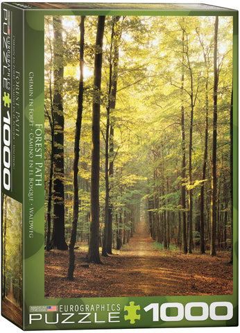 Forest Path (1000 pc) Eurographics Puzzle